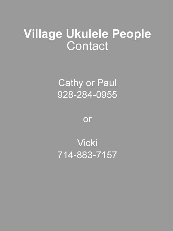 Village Ukulele People - Contact Info for Village Ukulele People, Village of Oak Creek, Sedona AZ